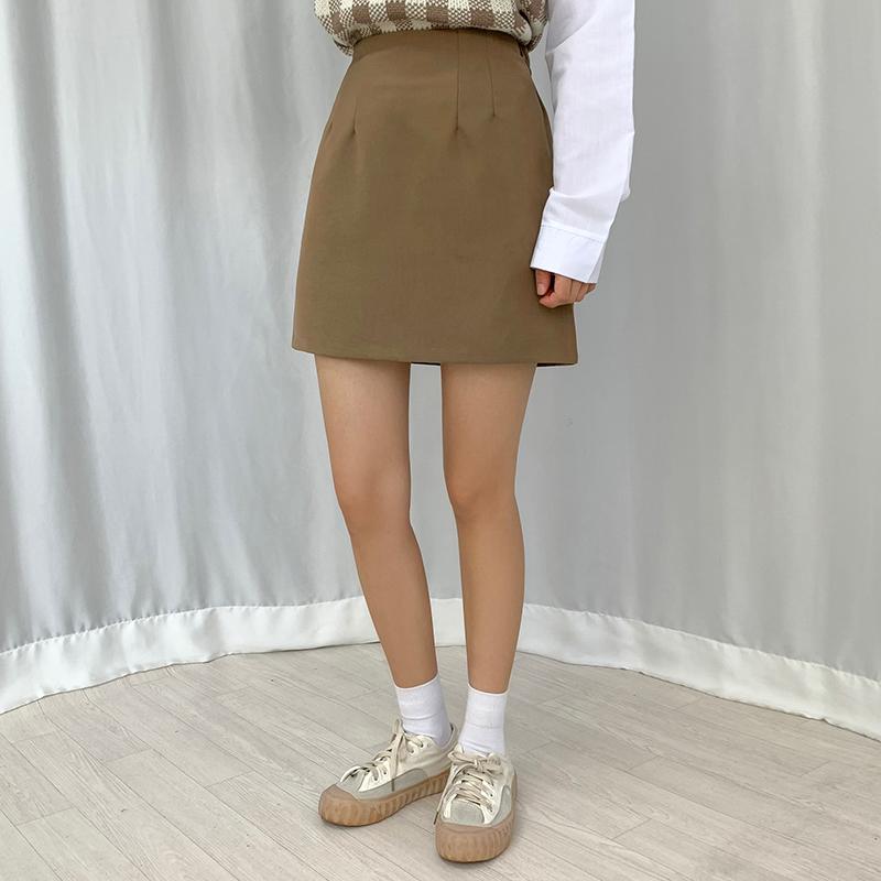 迷你裙 模特形象-S1L13