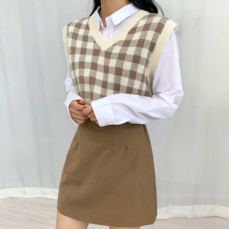 迷你裙 模特形象-S1L27