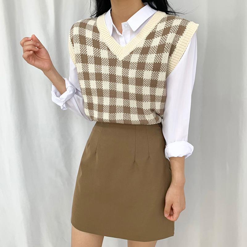 迷你裙 模特形象-S1L15