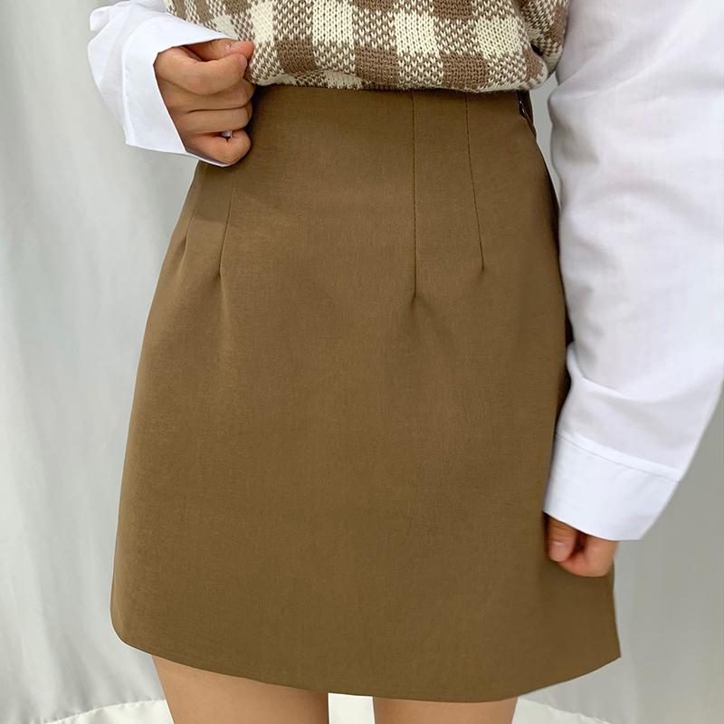 迷你裙 模特形象-S1L12