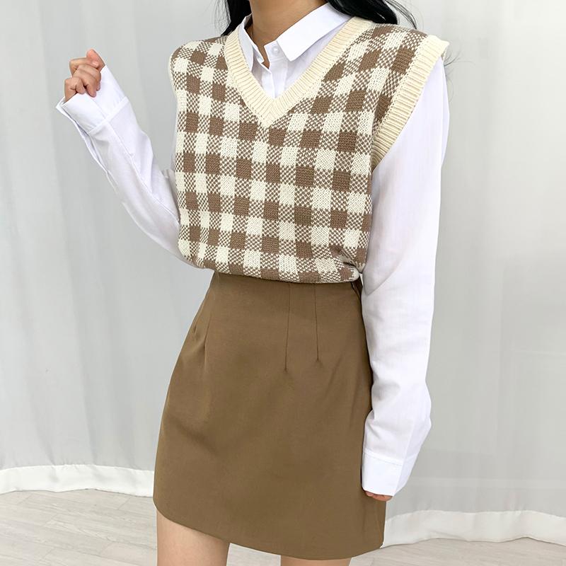 迷你裙 模特形象-S1L23