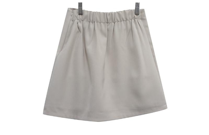 迷你裙 grey 彩色图像-S1L7